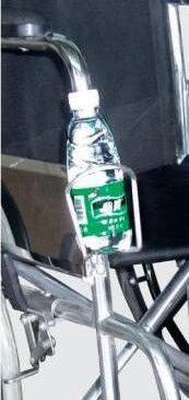 جا بطری آب ویلچر