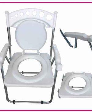 صندلی توالت فرنگی مبله تاشو