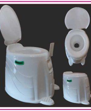 صندلی توالت فرنگی پلاستیکی