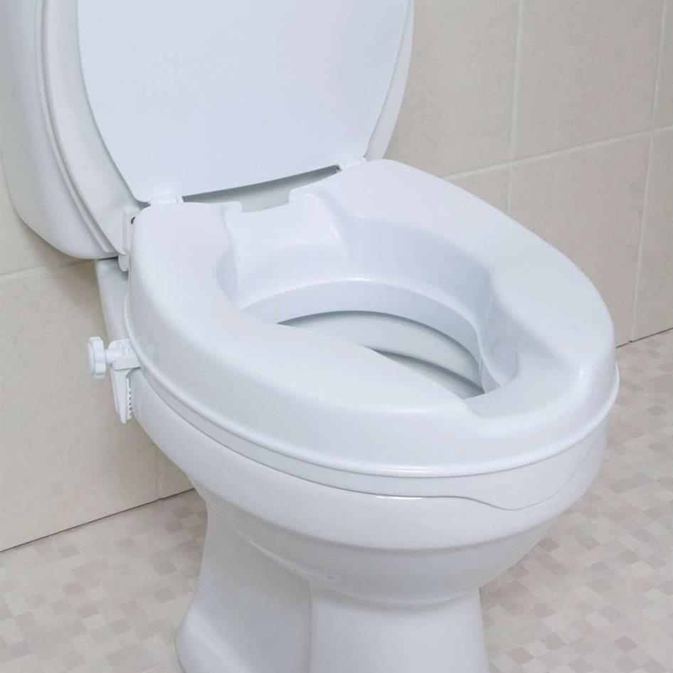 مکمل یا ارتفاع دهنده توالت فرنگی