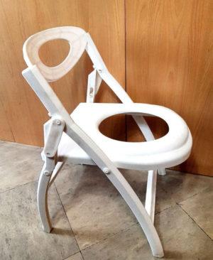 صندلی توالت تاشو پلاستیکی 5304