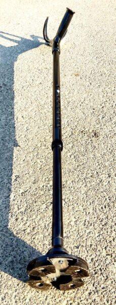عصا آلبوکراچ مشکی غضروفی طرح کوپر E-124-L